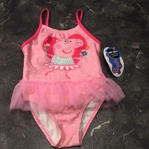 Peppa Pig Swim Suit Poshmark